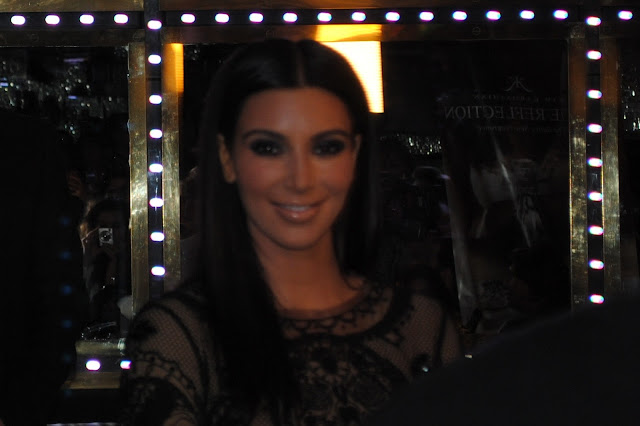 Kim Kardashian True Reflection Fragrance Launch
