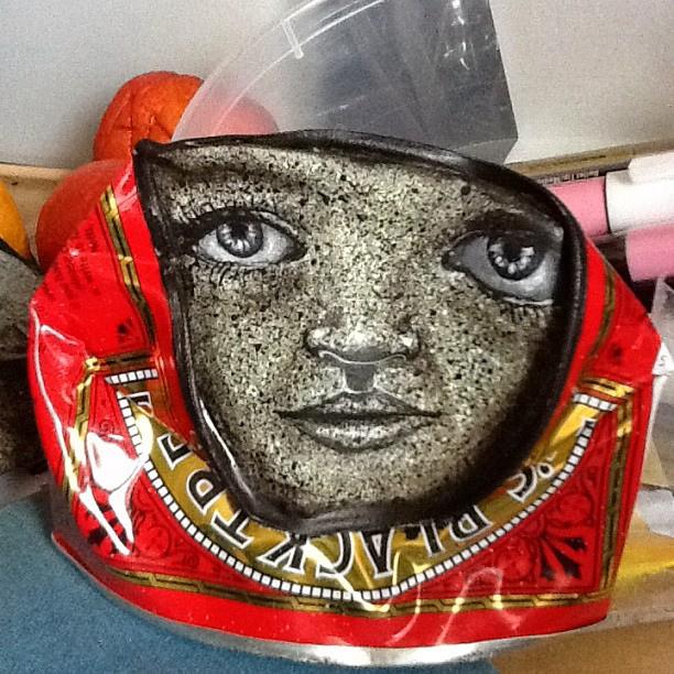 lata reciclaje arte