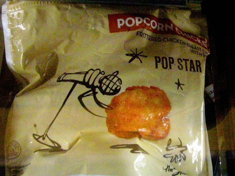 Pop Star popcorn chicken