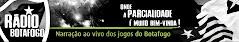 Eu agora comento na Rádio Botafogo também