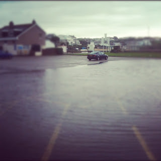 Flooding in Newquay, Cornwall