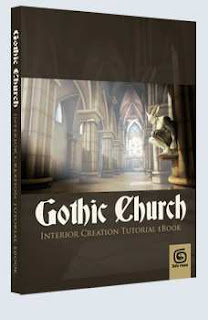 3DTotal Gothic Church - 3ds Max Pdf + CD