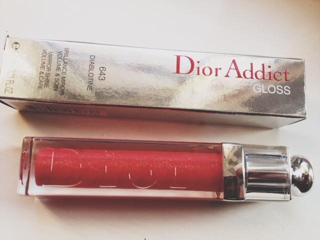 Dior, Dior Addict, Dior Addict Gloss, Dior makeup, makeup, gloss, lip gloss, Diablotine, beauty, review
