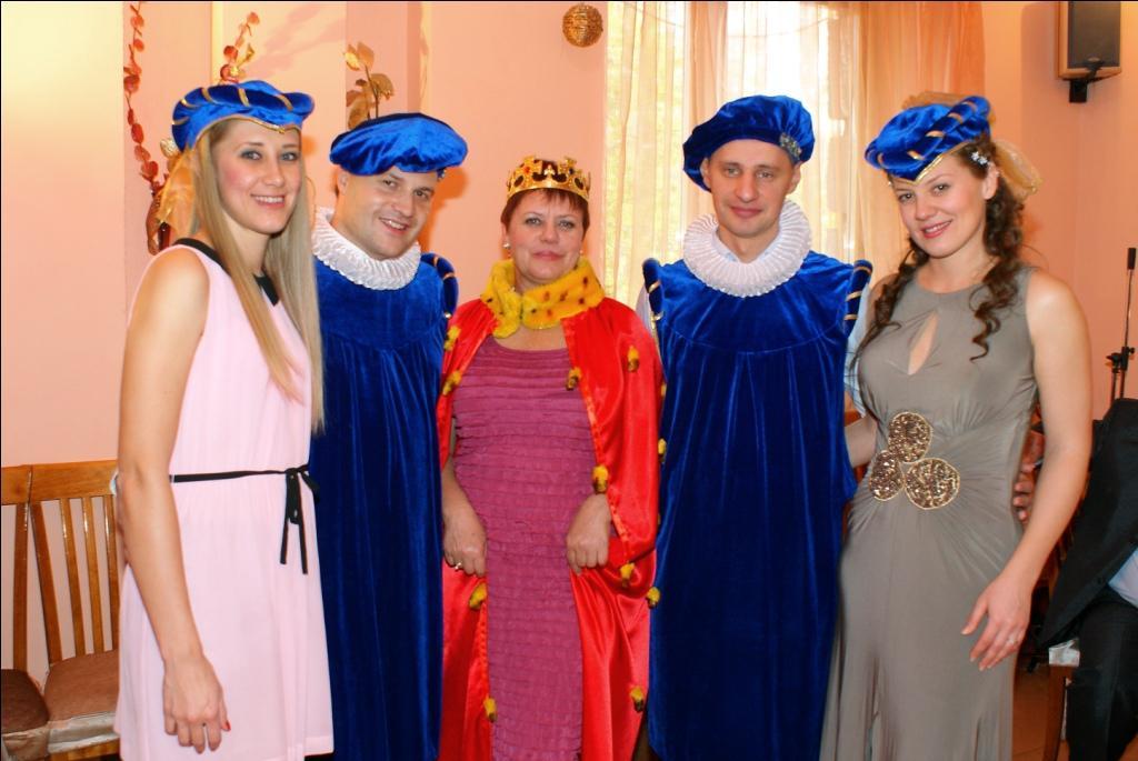 Костюмированные поздравления для женщины на юбилей