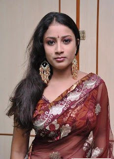 KAVUSIKA-hot-in-Saree-South Actress-6