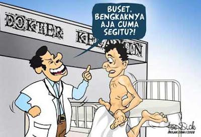 Humor Janji Seorang Dokter Kelamin Terhadap Pasien Malang - www.iniunik.web.id