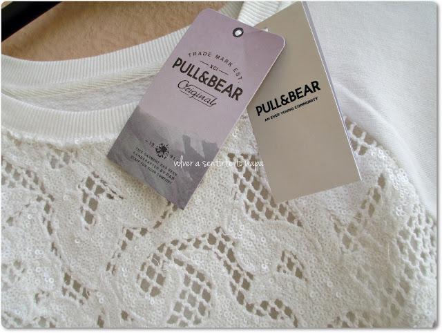 Compras en PULL and BEAR online - Sudadera con encaje