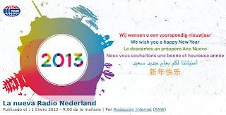Holanda: La nueva Radio Nederland.