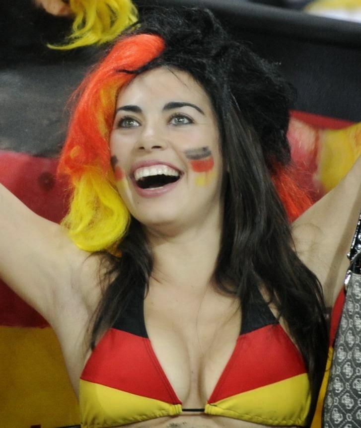 Las alemanas más sexys: Rubias, esculturales, amantes del futbol, la cerveza y las salchicas.