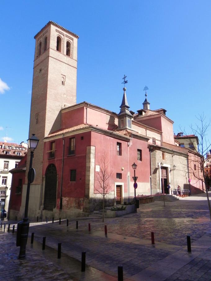 seleccionARTE: IGLESIA DE SAN PEDRO EL VIEJO, en la CALLE DEL NUNCIO de MADRID