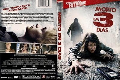 Filme Morto em 3 Dias DVD Capa