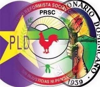 Partidos PLD, PRD y PRSC enfrentan retos 2014