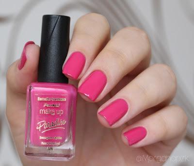 Esmalte Rosa Tropical Panvel Paradise