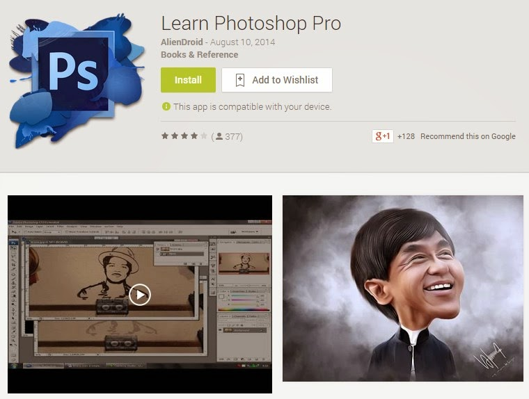 Tutorial Photoshop Pro for Android