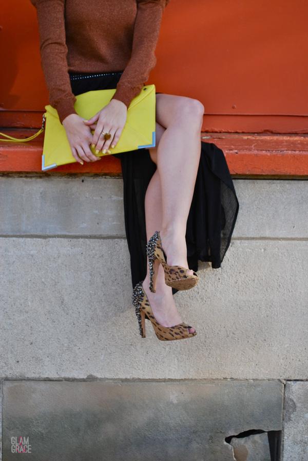 Akron Fashion - Sam Edelman Leopard Spikes