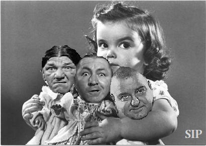 From the Ponder Couch: Day 358 - The Three Stooges!!!!!! - 12/24/2015