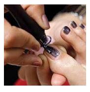 black toenails coloring