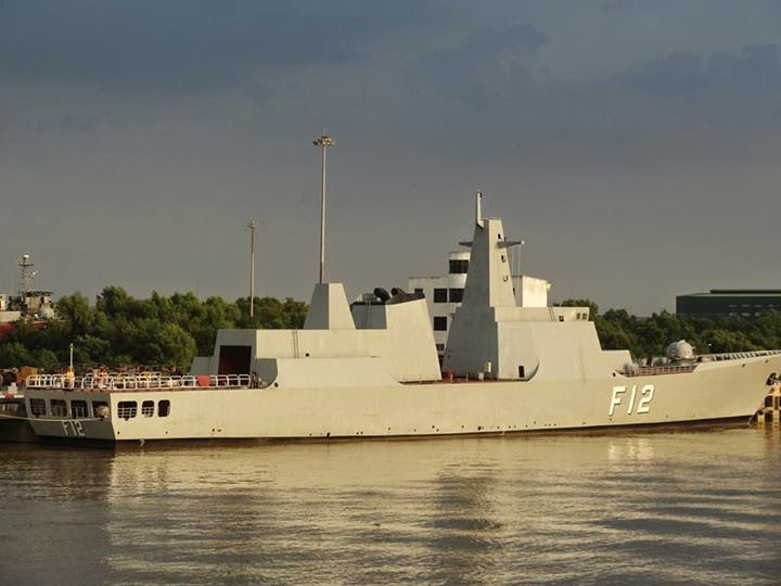 Stealth Ship of Myanmar Navy F 12