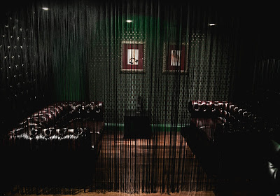 A room in a gentleman club, Soho