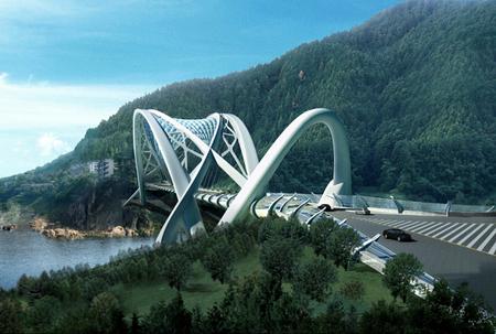 Beautiful Eco Bridge