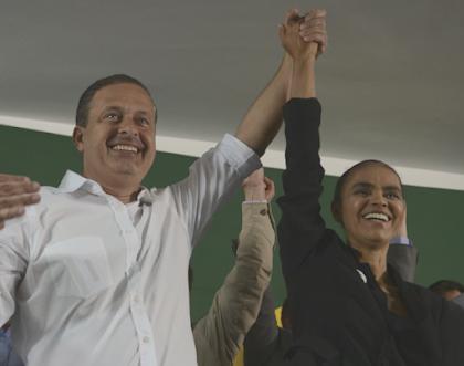 Marina Silva nunca disse ser contra impeachment - Marina e Eduardo Campos