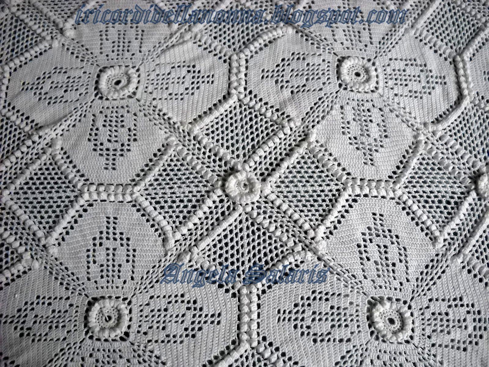 Piccoli motivi a filet piastrelle paperblog piastrelle uncinetto