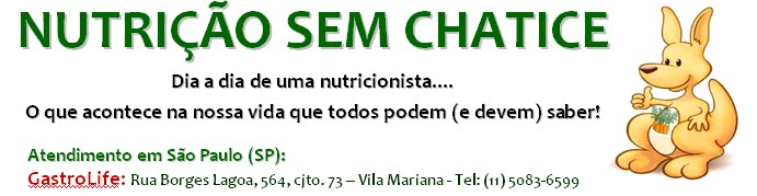 Nutrição Sem Chatice