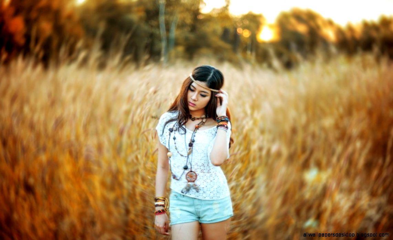 Lovely Asian Girl Fashion Model Hd Wallpaper   1228x768 iWallHD