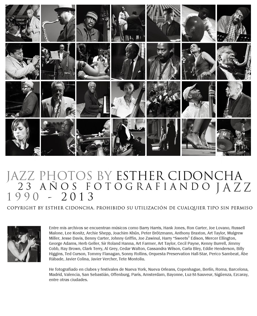 Esther Cidoncha - Jazz Photographer - Fotografías de Jazz