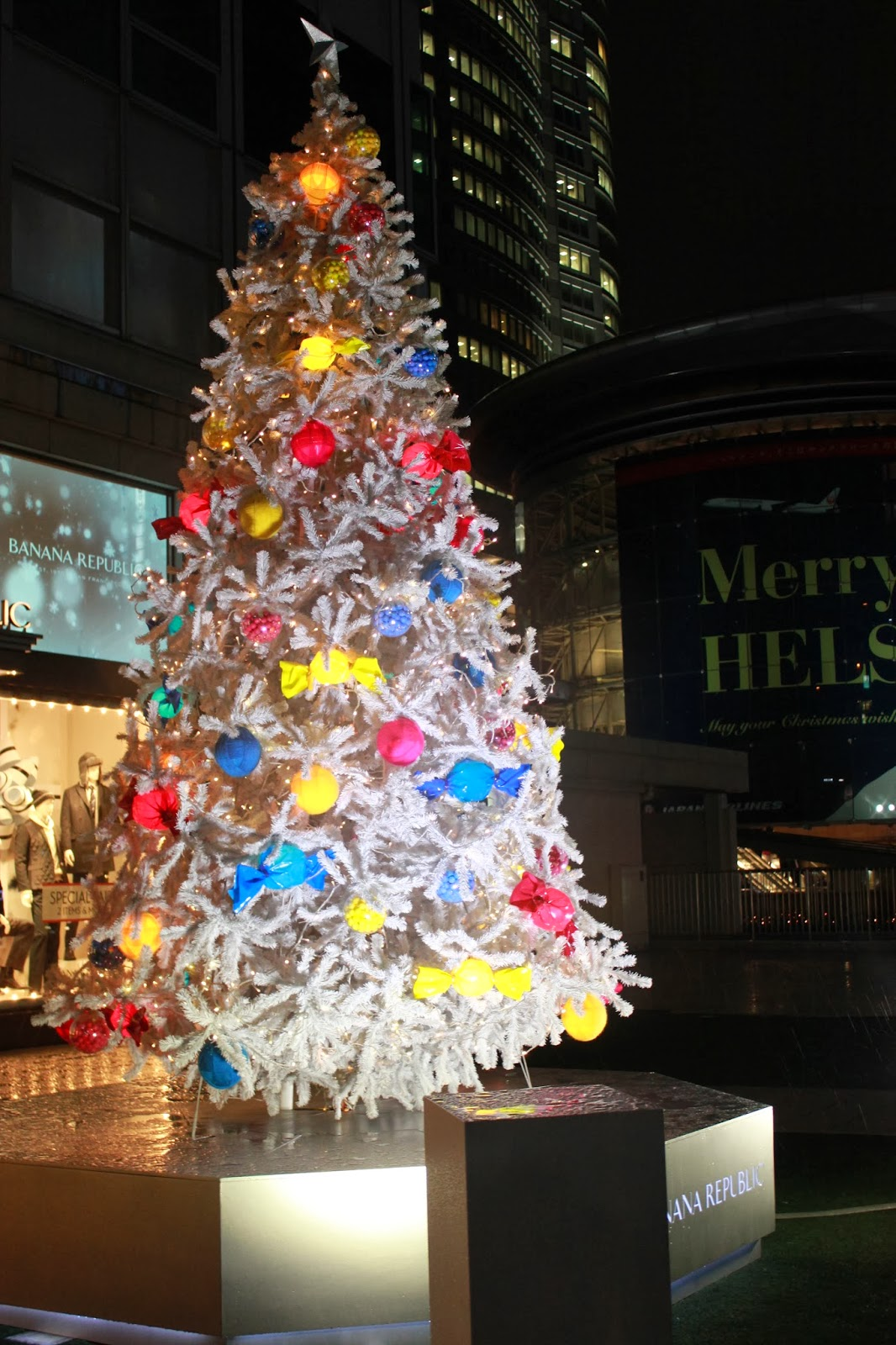 Banana Republic Christmas Tree