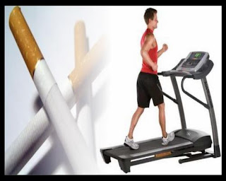 break away from cigarettes with exercise