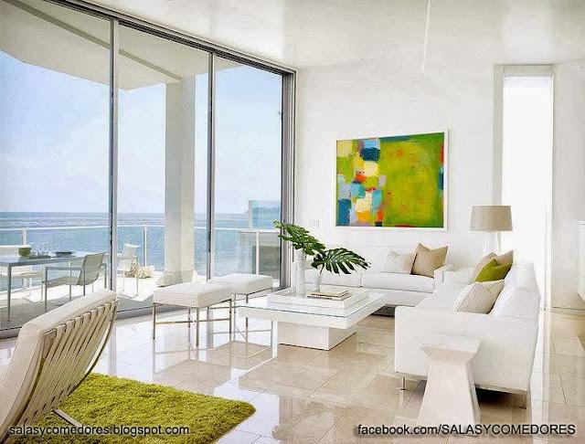 Salas con estilo salas y comedores decoracion de living for Decoracion para living y comedor