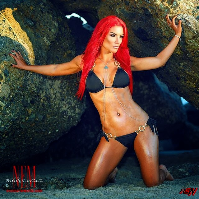 Sexy Beach Photo of Eva Marie... Wow.