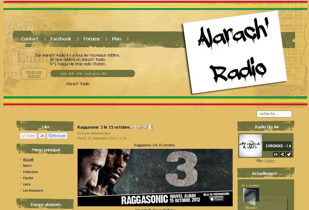 Alarach' Radio