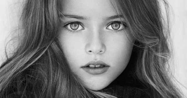 Meet nine-year-old Kristina Pimenova 'the most beautiful girl in the world'