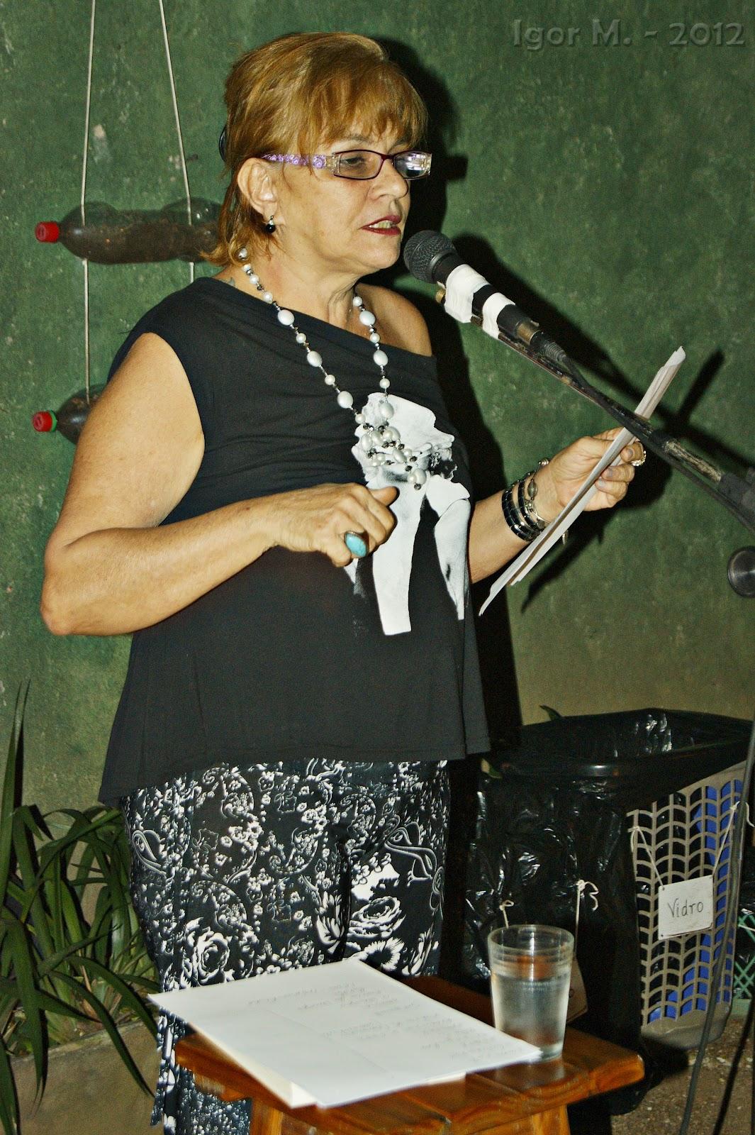 Katia D´Angelo no Espaço Semear. Foto: Igor M
