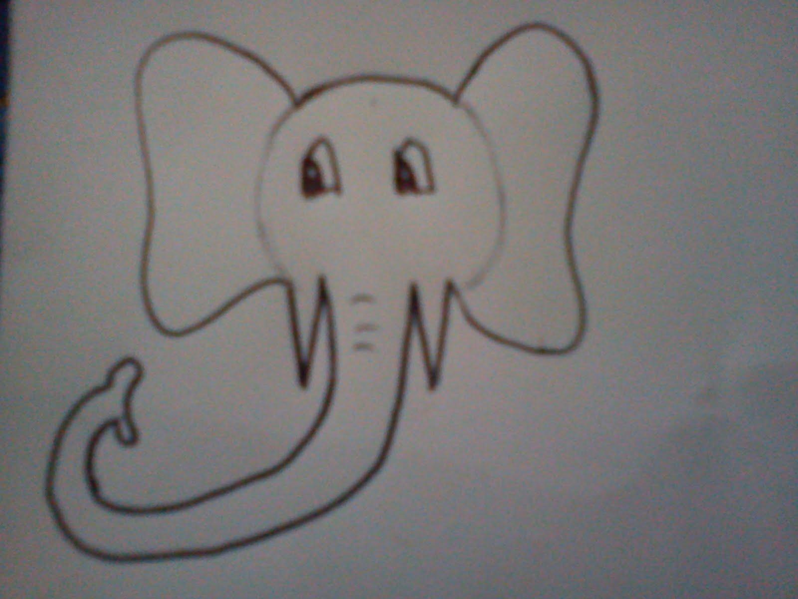 to for pets how to draw a cartoonized elephant comment dessiner un el phant cartoonis. Black Bedroom Furniture Sets. Home Design Ideas