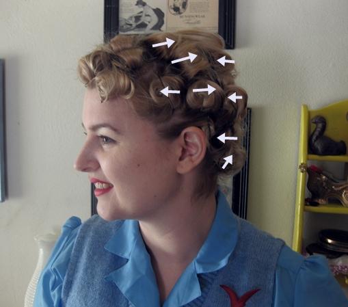 Tutorial A Marilyn Pin Curl Set Va Voom Vintage Vintage Fashion Hair Tutorials And Diy Style