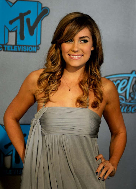 Lauren Conrad Long Curly Hairstyle