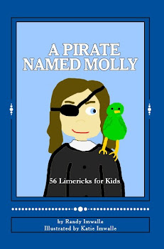 A PIRATE NAMED MOLLY - 56 Limericks for Kids - Makes a great gift!  Available at Amazon