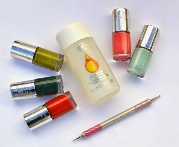 productos de la nueva colección de esmaltes