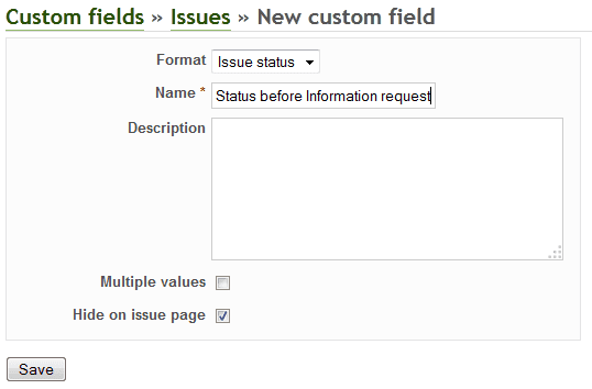 redmine plugin luxury buttons custom field