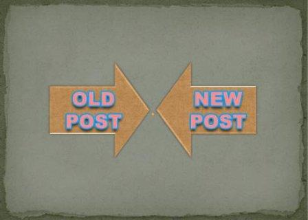 How to add Floating Button for Newer and Old Post by BloggingFunda
