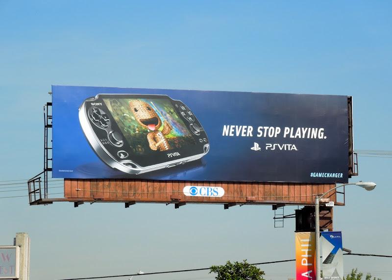 Sony PSVita billboard