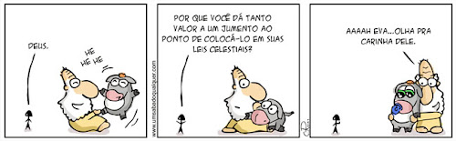 Tirinhas da Luna #28: 'Jumento'   Ordem da Fênix Brasileira