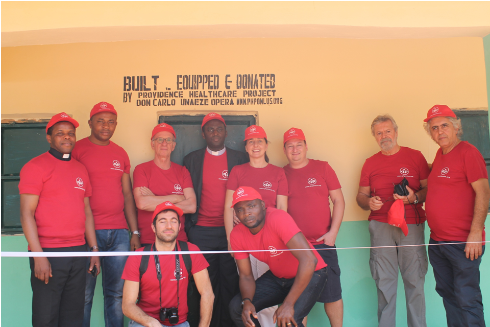 PHP Onlus durante la Solidarity Mission 2014 in Nigeria