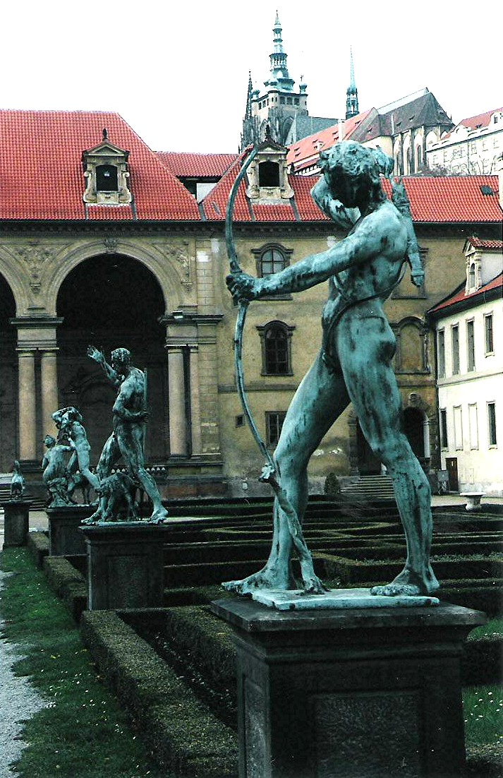 J rgen ehre prague le jardin de wallenstein prague for Jardin wallenstein prague