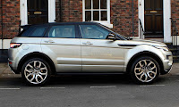 Land Range Rover Evoque Side