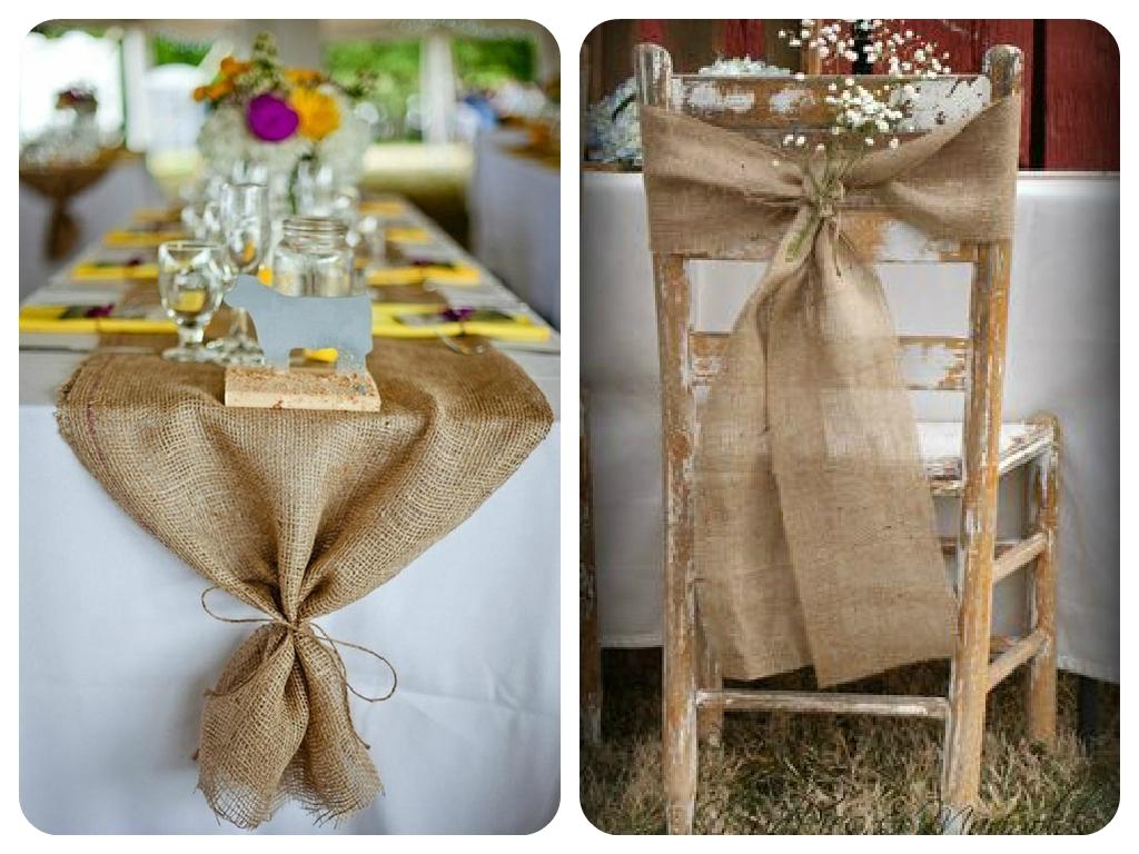 T para dos boda r stica for Decoracion rustica para bodas