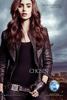 Lily Collins Mortal Instruments City of Bones Poster